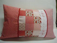Decoração em patchwork para almofadas e travesseiros 006