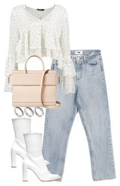 """""""Untitled #4564"""" by theeuropeancloset on Polyvore featuring Paige Denim, Stuart Weitzman, Boohoo, Givenchy and ASOS"""
