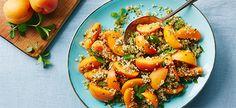 Cook with Campbells. Fresh Apricot, Jalapeno, Mint Quinoa Salad
