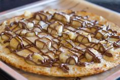 San Diego Magazine: Best Spin-Offs - Seven tasty takes on pizza (that Nutella & Banana could get me re-addicted to the spread! San Diego Restaurants, Pizza Rolls, Good Pizza, Pizza Dough, Nutella, Waffles, Pie, Banana, Tasty