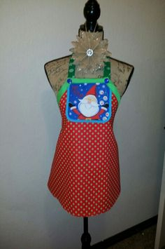 Child Christmas Apron