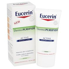 Eucerin® Dermo PURIFYER Active Night Care (50ml): Image 1