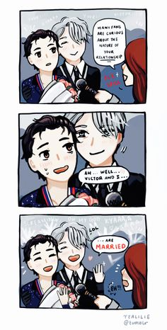 i wouldn't be surprised yuri!!! on ice | yoi | viktor nikiforov x katsuki yuuri | victuuri