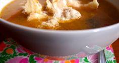 Recept: veganistische pindasoep met rijst - De Groene Meisjes