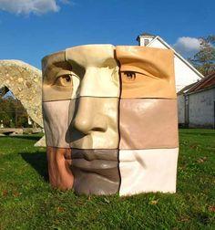 Surrealistic Sculptures By Michael Alfano Different Skin Tones, Gcse Art, Public Art, How To Take Photos, Cool Artwork, Installation Art, Sculpture Art, Surrealism, Modern Art