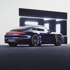 """A basic meaning of a sports automobile is """"a little low vehicle with a high-powered engine, and generally seats two individuals"""". Porsche Club, New Porsche, Porsche Carrera, Porsche Panamera, Porsche Collection, Porsche Sportwagen, Porsche Design, Ford Gt, Car Wallpapers"""