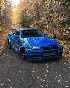 Nissan Gtr Skyline, Nissan 350z, My Dream Car, Dream Cars, Best Jdm Cars, Street Racing Cars, Tuner Cars, Car Engine, Japanese Cars