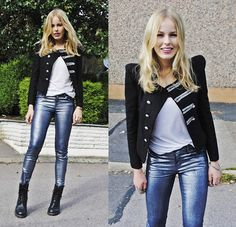 jacket and boots