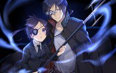 Anime Katekyō Hitman Reborn! Mukuro Rokudo Chrome Dokuro Fondo de Pantalla