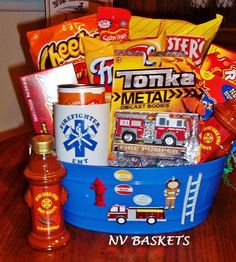 Firefighter Gift Basket Firefighter Gifts Amp Police