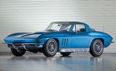 """1966 Corvette 427 [note: """"Corvette Sting Ray """" script on hood]"""