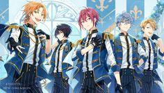 Knights, by Seuga Anime Guys, Manga Anime, Star Images, Drawing Reference Poses, Star Art, Ensemble Stars, Light Novel, Pretty Art, Akatsuki