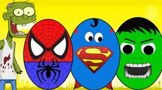 Spiderman Vs Zombies - Suprise Eggs for kids - Monster Trucks