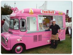 Our History | Tonibell arrived to rival the Walls van and parked strategically near the secondary school at home time.