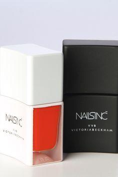 Victoria Victoria Beckham polishes for Nails Inc. [Photo By Kyle Ericksen]
