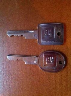 Remember when you had to have 2 keys for 1 car? One to unlock it, the other to start it. I had forgotten this!