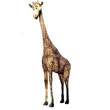 I think I need this for Christmas. Because seriously, who wouldn't want a stuffed 16 foot giraffe??