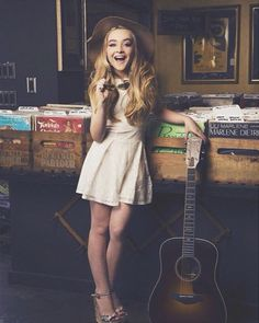 Sabrina Carpenter Shared More Photos From Her Girls' Life Magazine Shoot March 11, 2015 - Dis411