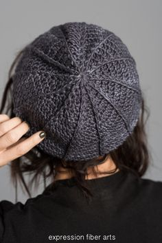 Free Sona Cabled Crochet Hat Pattern