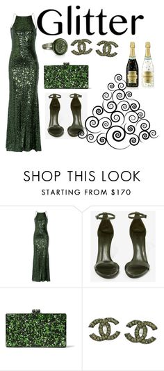 """""""formal"""" by sissy-30 on Polyvore featuring Badgley Mischka, Schutz, Edie Parker, Chanel, Azhar and Rebecca Minkoff"""