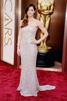 The Best Looks From The Oscars Red Carpet via @Who What Wear