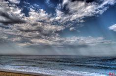 plage, Mimizan, les landes, Sud-Ouest, Aquitaine, France, ciel, nuage, paysage