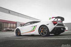 Tricolore Lamborghini LP560-4
