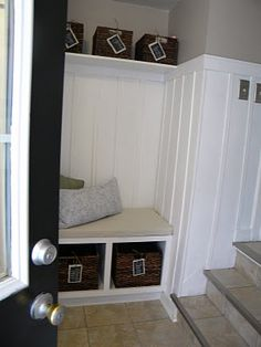 one of my favorites - includes shelf and taller with just a bit of wall color peeking at the top