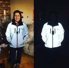 📷 @karalilly13 looking rather invisible with her #Proviz Jacket! 🌟