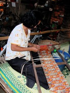 Art Found Out: Cambodian cloth