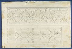 Thomas Chippendale | Gothic Frets, from Chippendale Drawings, Vol. II | The Metropolitan Museum of Art