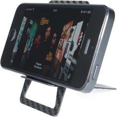 CARD STAND  Never look out for another iPhone stand again. Works with any smartphone and is made out of industrial carbon which is extremely strong, light and durable