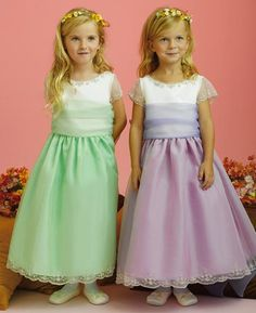 Something as simple as the sleeve type can transform your dress into a fairytale gown. Description from jaksflowergirldresses.com. I searched for this on bing.com/images