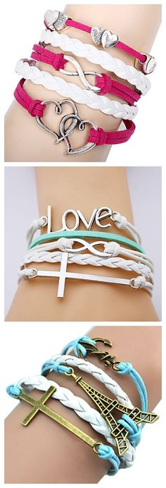 Lovely bracelets aren't they? Take a look!