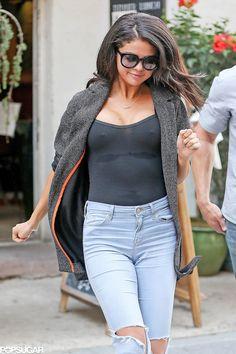 Selena Gomez bore a striking resemblance to Kim Kardashian in NYC!
