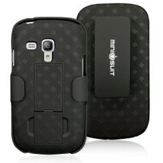 MiniSuit Clipster Kick Stand Case for Samsung Galaxy S3 Mini
