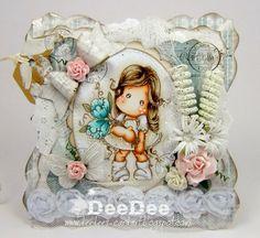 DeeDee´s Card Art: ♥ Tilda with Fantasy Flower - Cards und More DT ♥