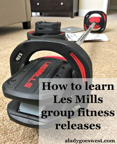 How to learn Les Mills group fitness releases by A Lady Goes West blog @LesMills @LesMillsUS #lesmills http://aladygoeswest.com/2015/06/30/how-to-learn-les-mills-group-fitness-releases/
