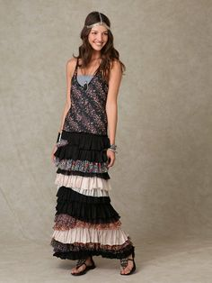 Free People Ruffled Layers Dress, $0.00