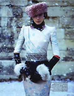 Russian Chic. i love  the classic , and the traditions our women are able to maintain !!!!!!!