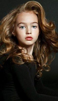 russian child supermodel | Russian child model Anastasia Bezrukova.