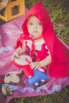 #smashthecake #micaela1 #chapeuzinhovermelho #fantasia #criança #babygirl