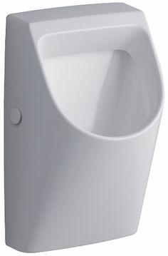 Renova Nr. 1 Plan urinoir, toevoer van achter, afvoer naar achter – KERAMAG