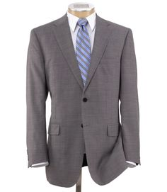Shelton 2 button Solid Slim Fit Suit - Grey $398.00 | We're ...