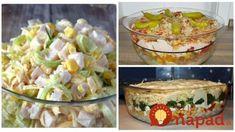 Zbierka 9 výborných šalátov namiesto ťažkých príloh: Zasýtia, krásne vyzerajú a pomôžu aj pri chudnutí – ideálne aj na sviatočný stôl! Dessert Recipes, Desserts, Feta, Potato Salad, Healthy Recipes, Healthy Food, Food And Drink, Potatoes, Ethnic Recipes