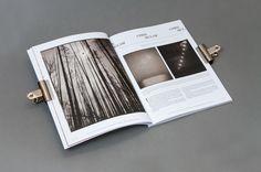 B+W 175 Magazine by Eloise Adler, via Behance