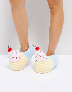 Loungeable Cupcake Slipper