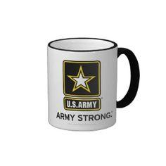 US Army Strong Logo Mug