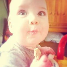 Ginger Bisquite: Banana and Oat Teething Biscuits - Baby Led Weaning Recipe