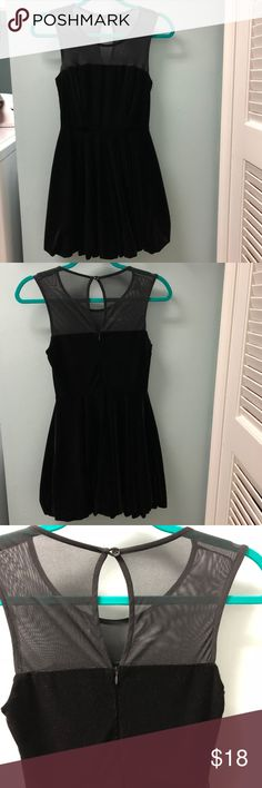 Forever 21 Velvet Bubble Dress This velvet bubble dress will be sure to turn heads! It is both trendy and comfortable! Forever 21 Dresses Mini